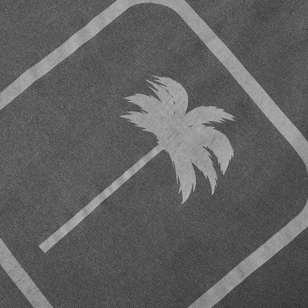 Palm Angels Tonal Palm Oversized Tee - Black