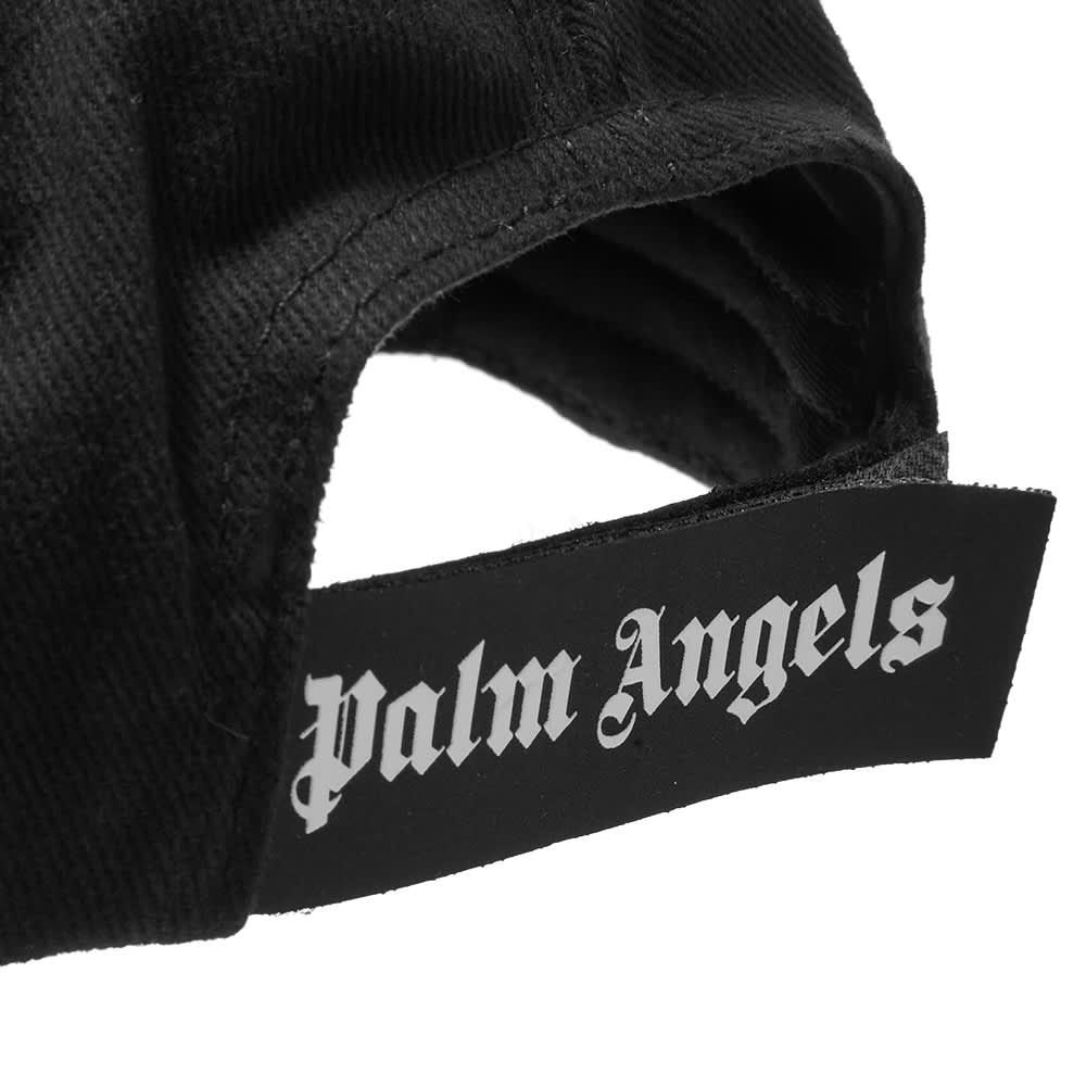 Palm Angels Patch Logo Cap - Black & White