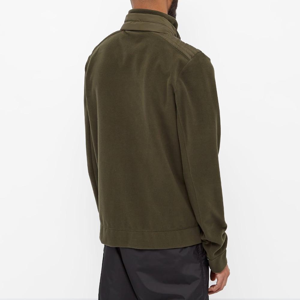 Moncler Grenoble Zip Through Knit - Green