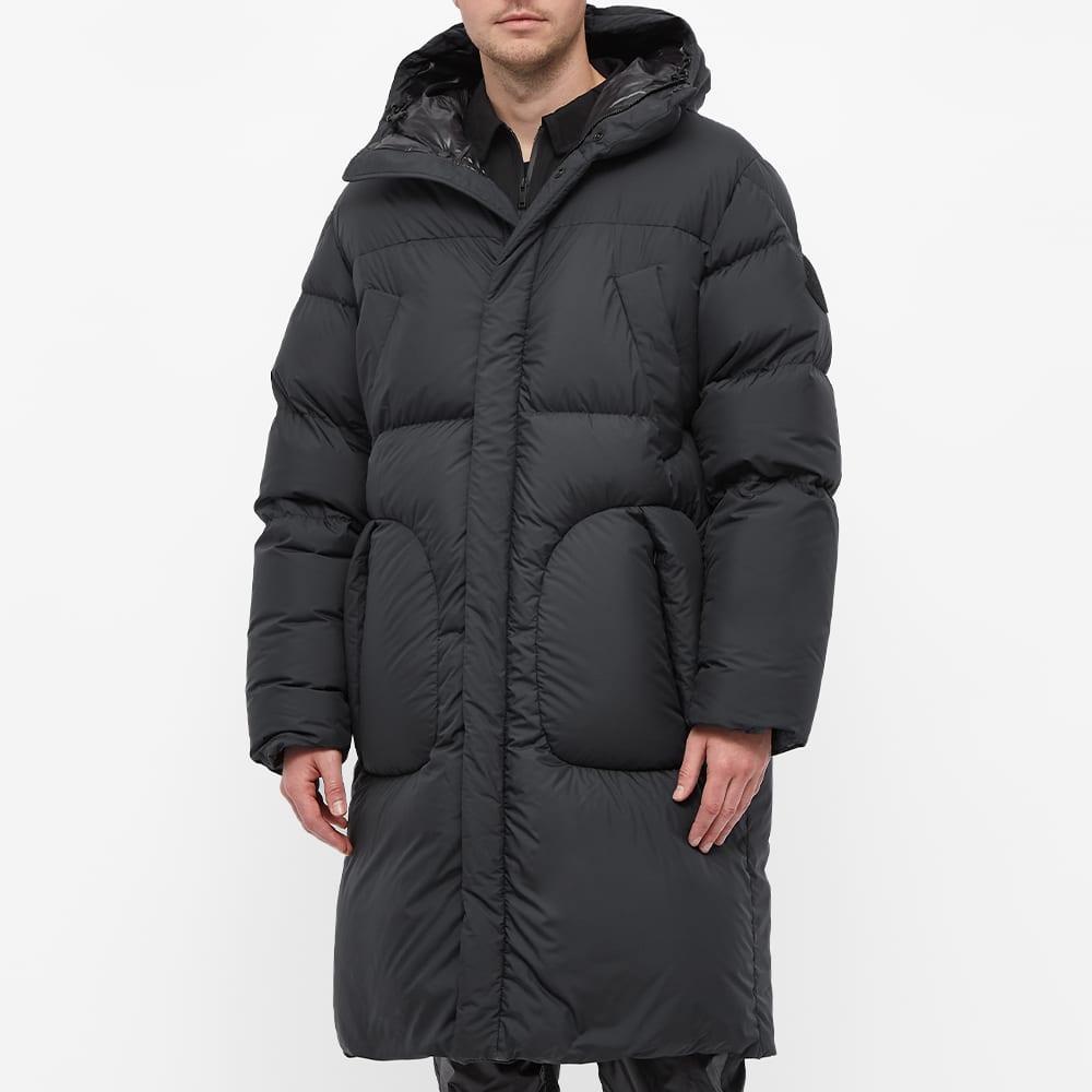Moncler Genius Long Down Coat - Black