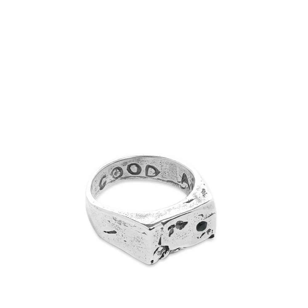 Heresy Drinkers Ring - Silver