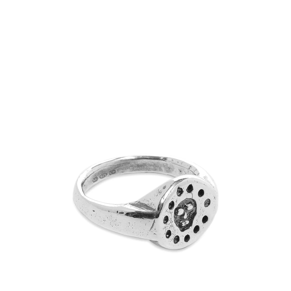 Heresy Cursed Ring - Silver