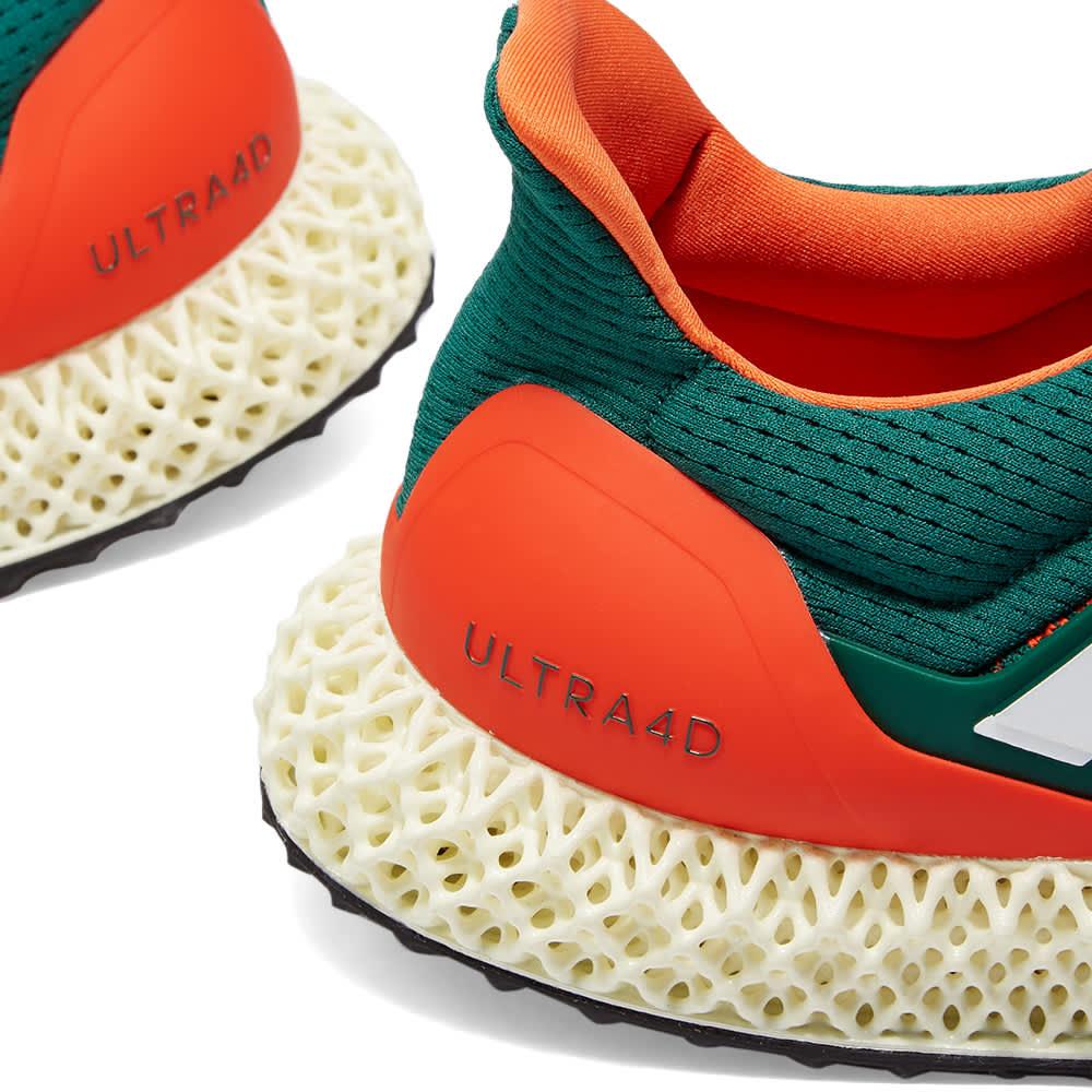 Adidas Ultra 4D - Green, White & Orange