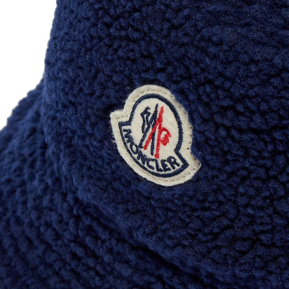 Moncler Sherpa Fleece Bucket Hat - Navy