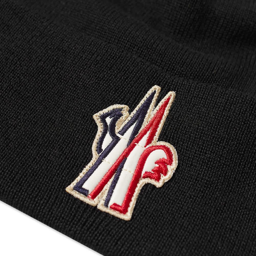 Moncler Grenoble Logo Beanie - Black