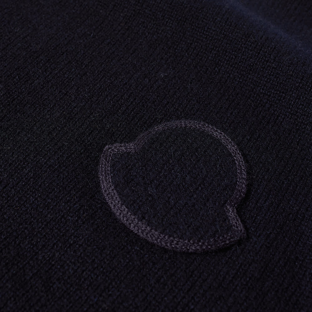 Moncler Logo Crew Knit - Navy