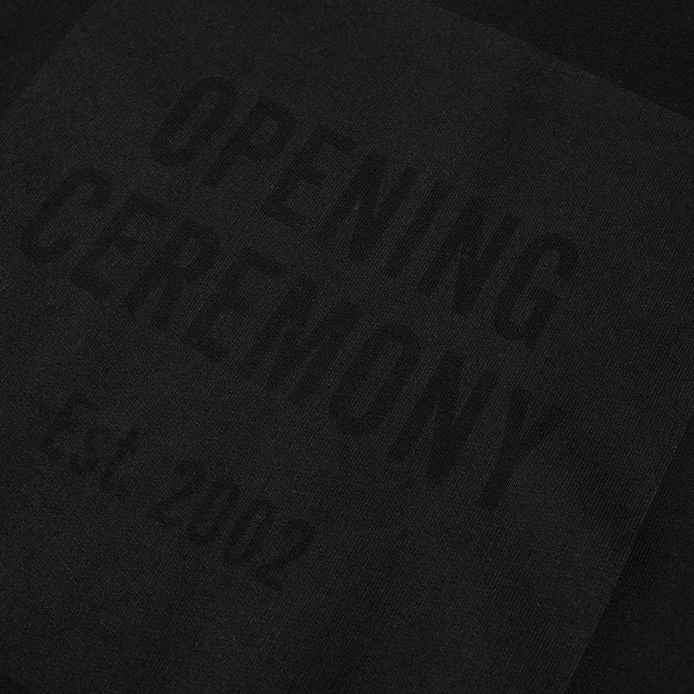 Opening Ceremony Box Logo Crew Sweat - Black Black