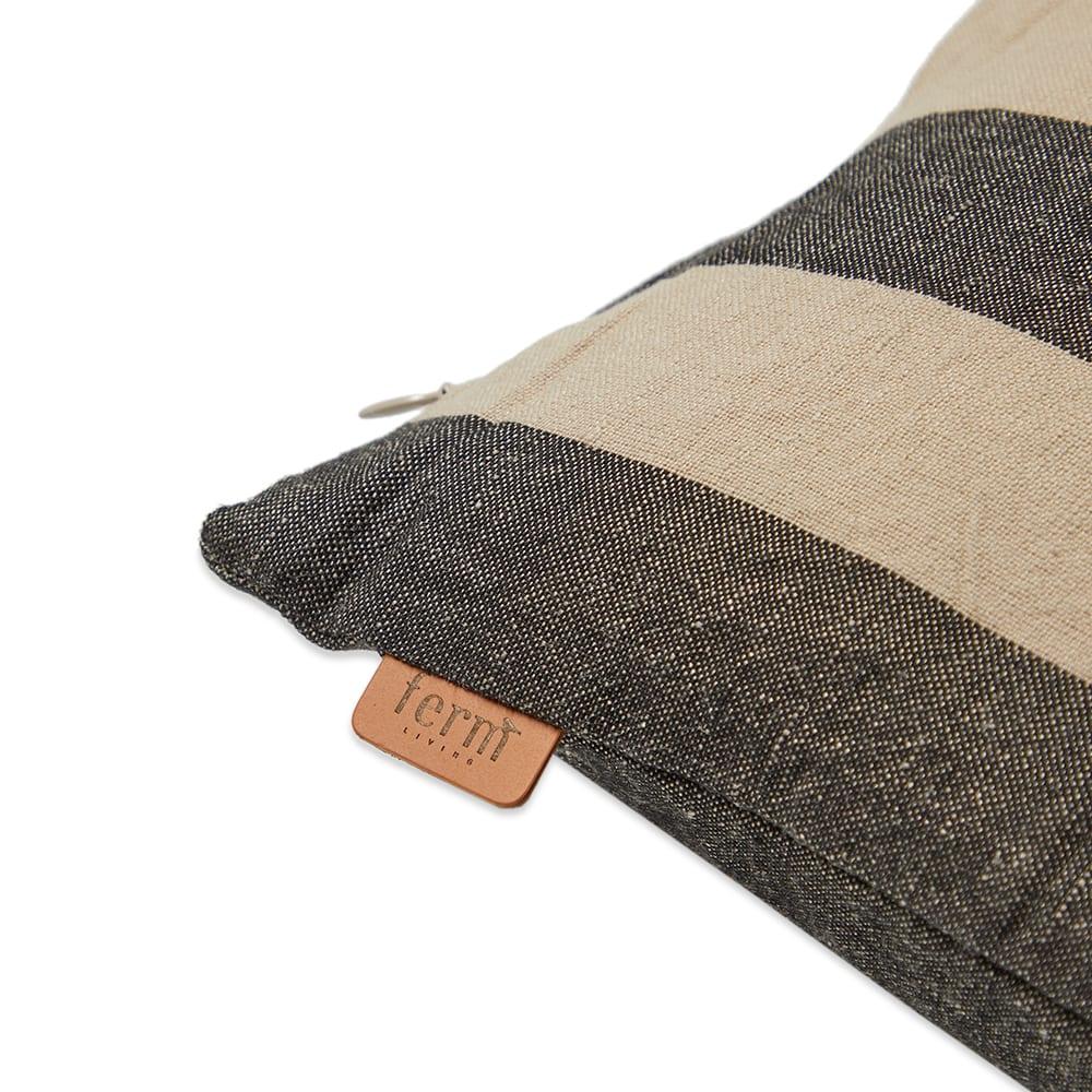 Ferm Living Grand Cushion - Sand & Black