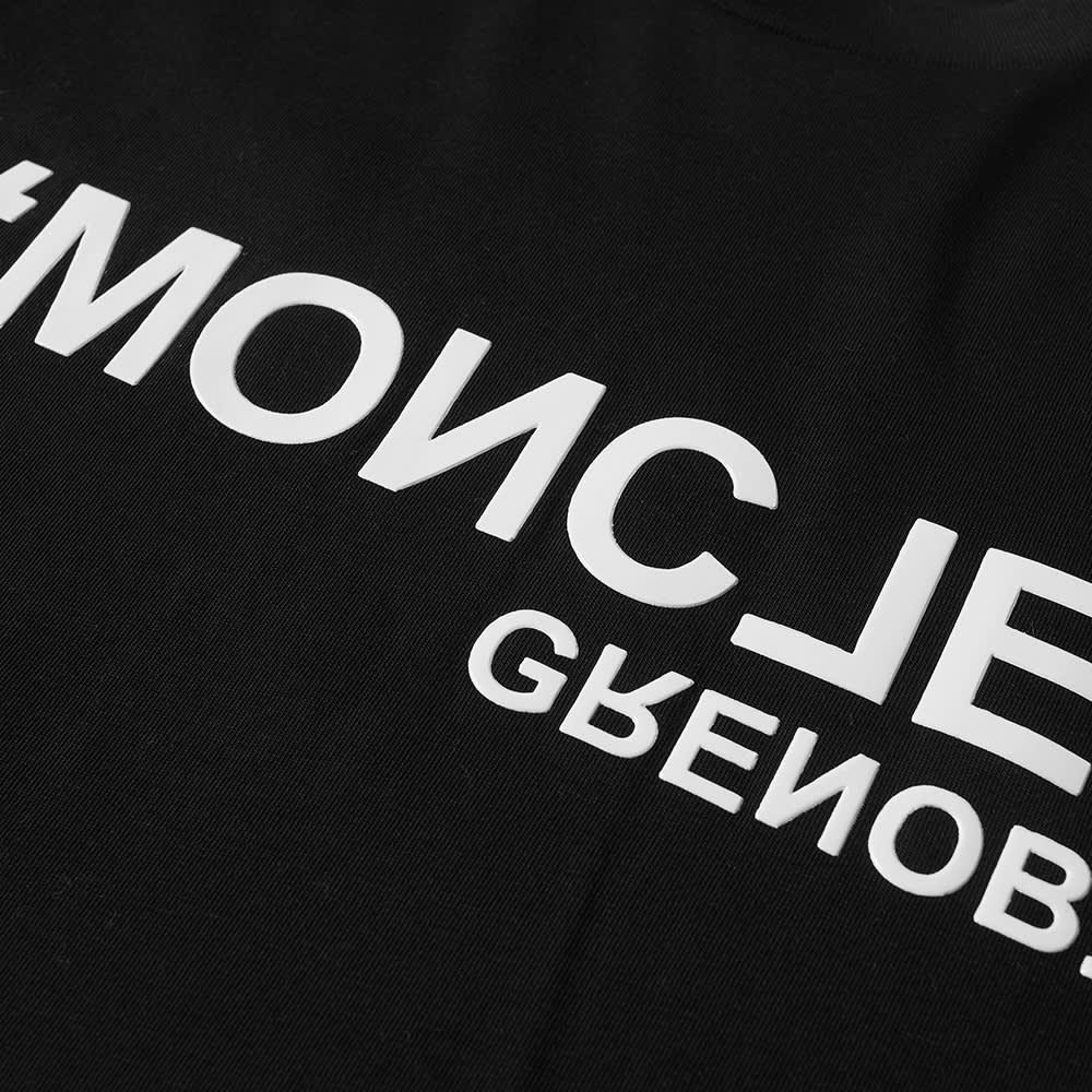 Moncler Grenoble Logo Tee - Black