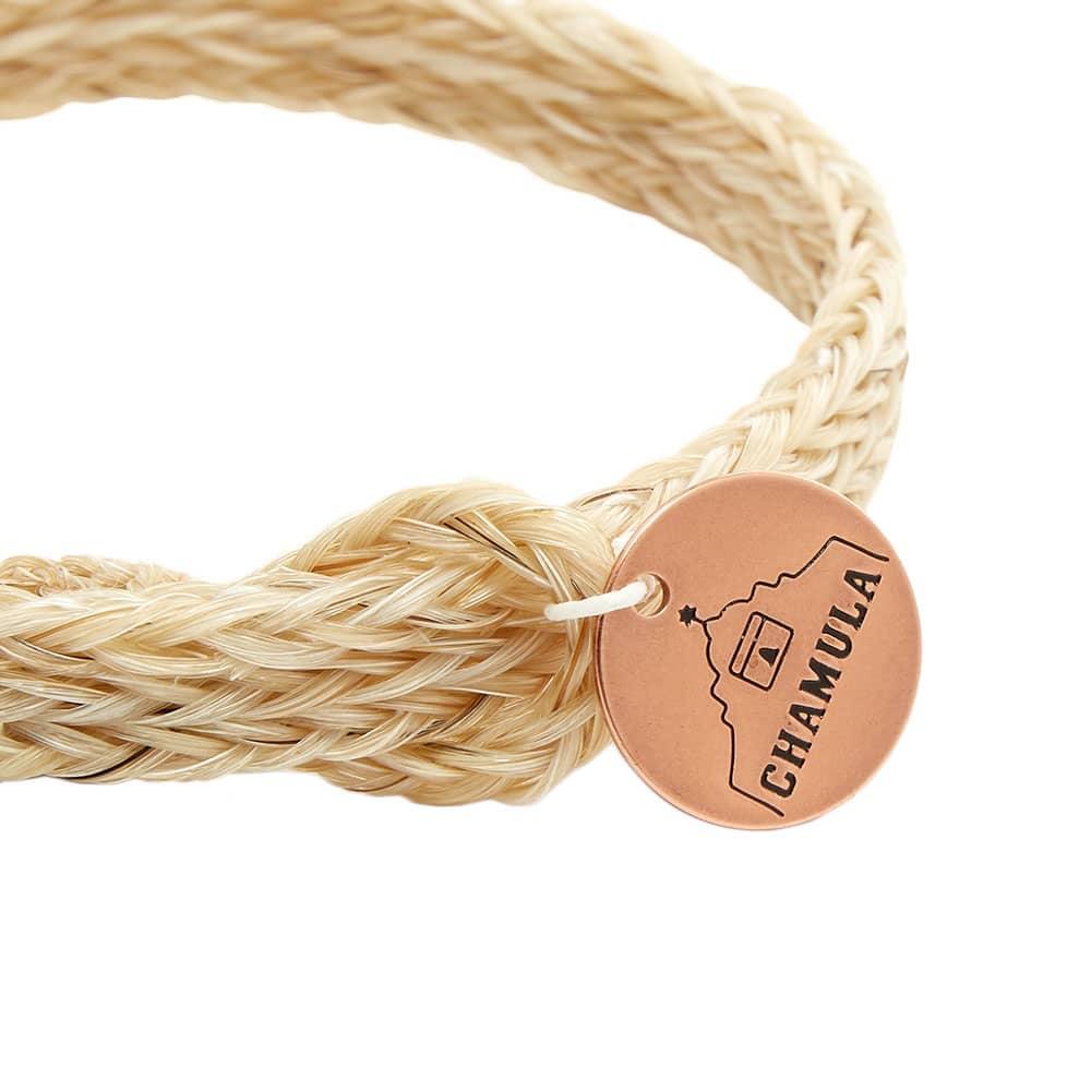 Chamula Braided Horsehair Bracelet - Ecru