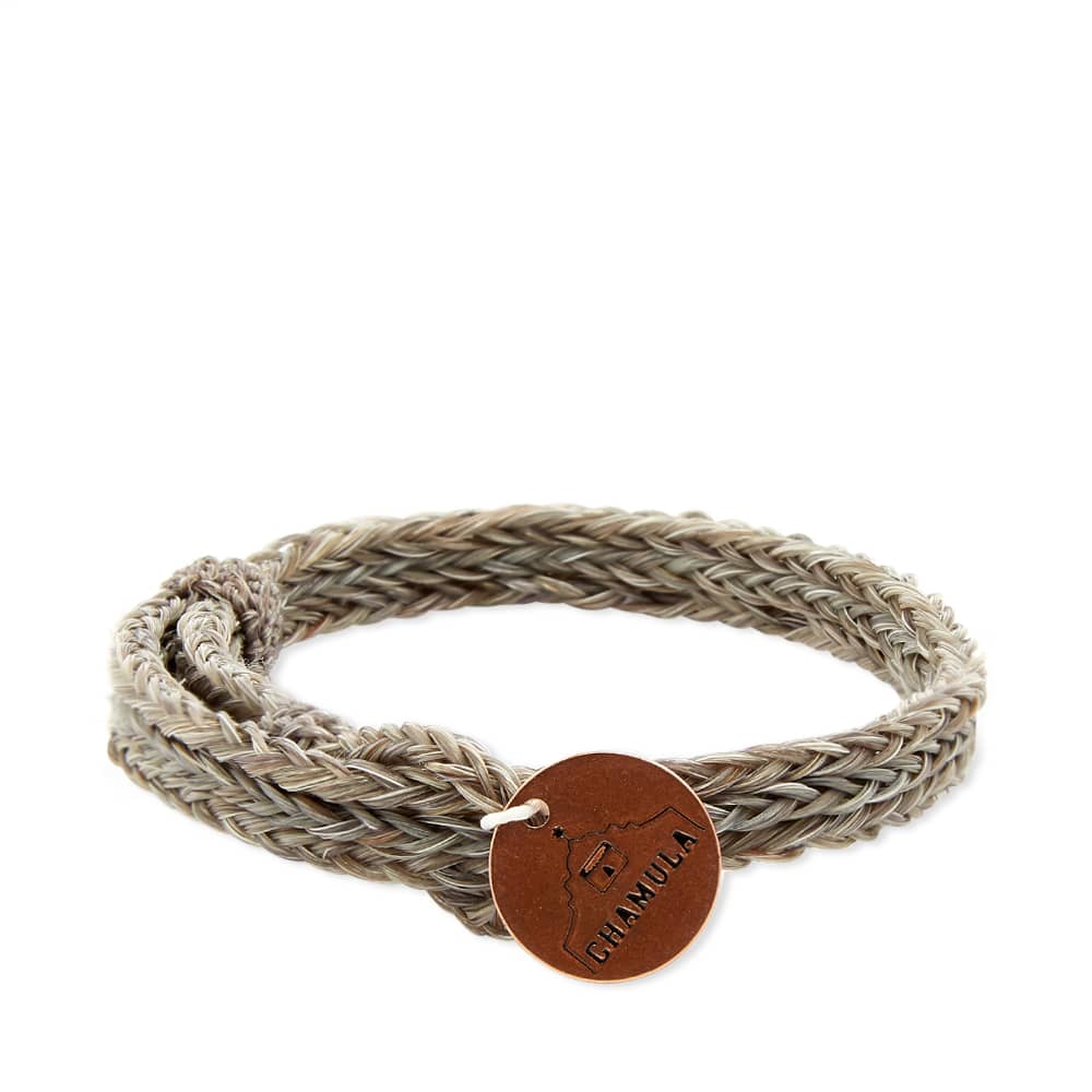 Chamula Braided Horsehair Bracelet - Grey