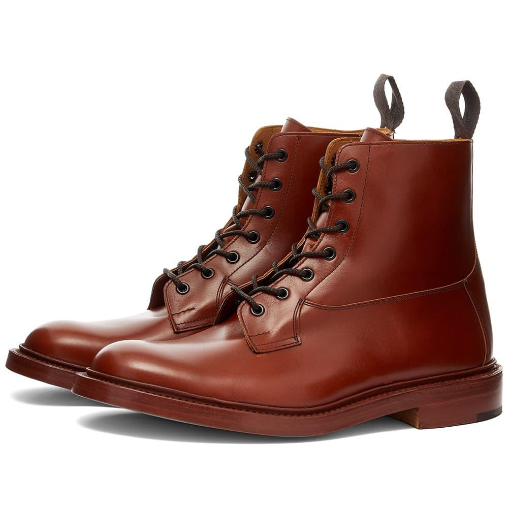 Tricker's Burford Derby Boot - Marron Antique