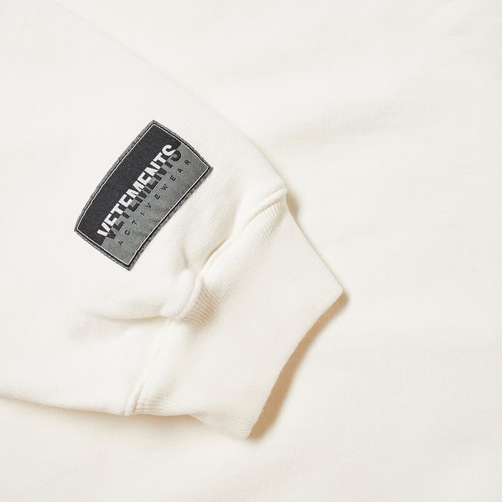 VETEMENTS Sweet Logo Hoody - White
