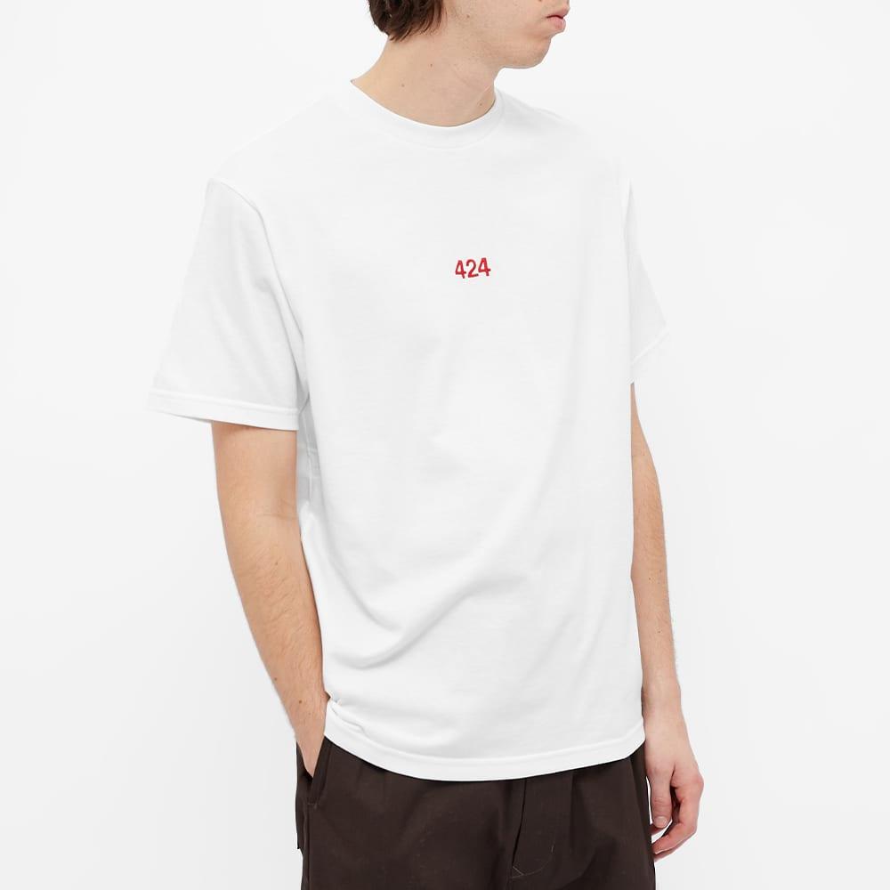 424 Classic Logo Tee - White