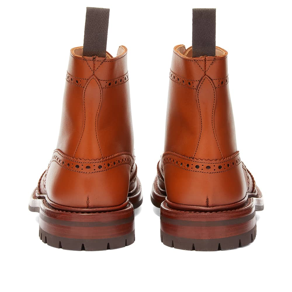 Tricker's Malton Commando Brogue Boot - C Shade Tan