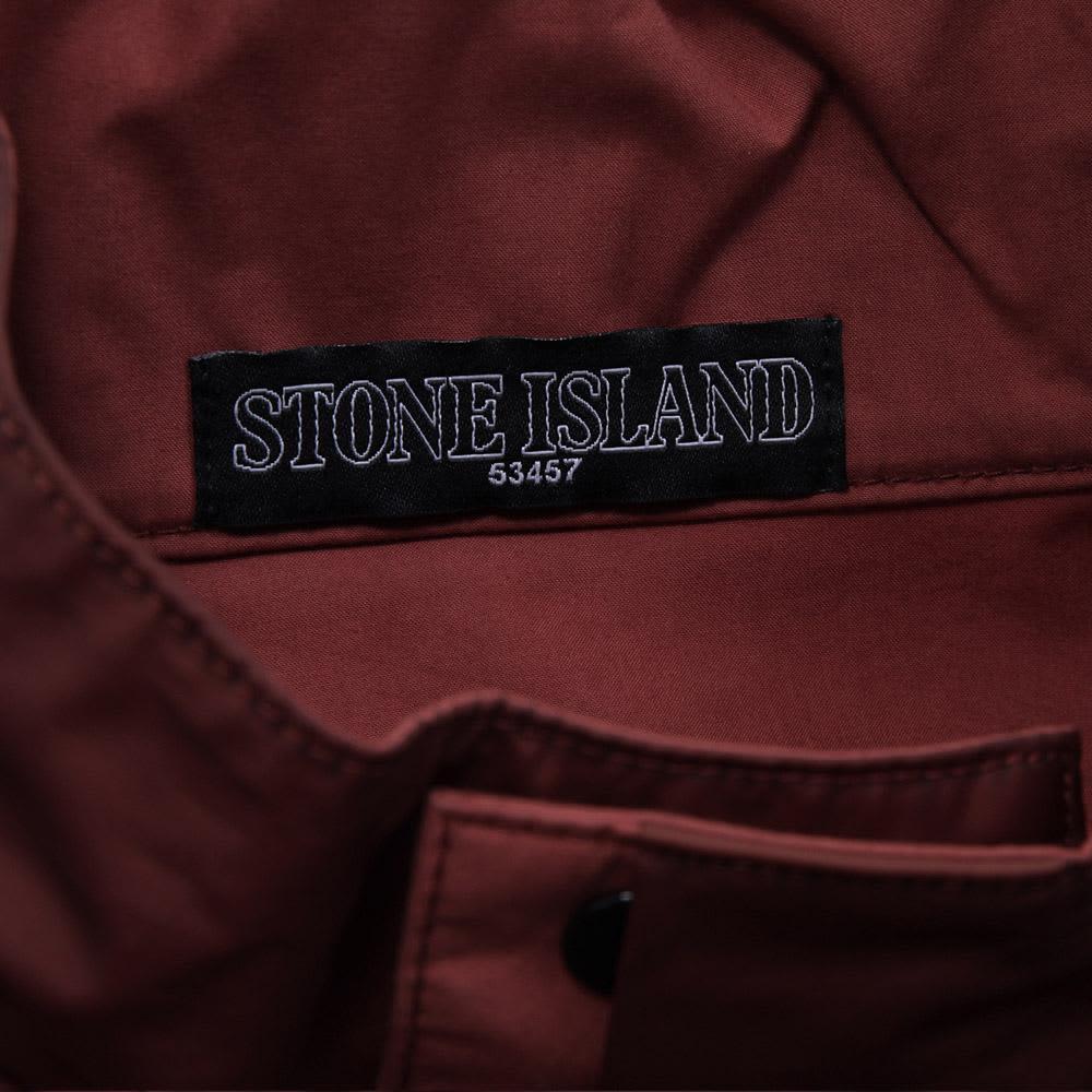 Stone Island Shadow Project Gommato-R Bomber Jacket - Bordeaux