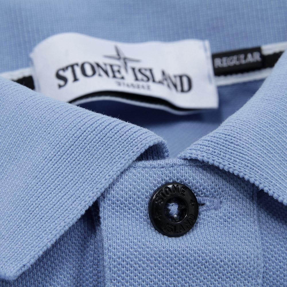 Stone Island Regular Fit Polo - Sky