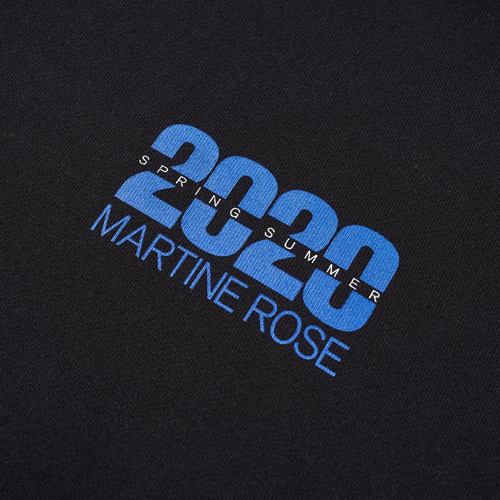 Martine Rose 20/20 Logo Popover Hoody - Black