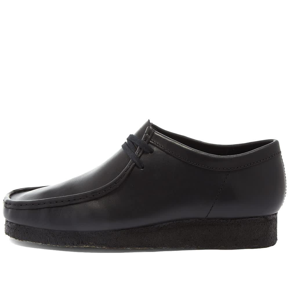 Clarks Originals Wallabee - Black Leather