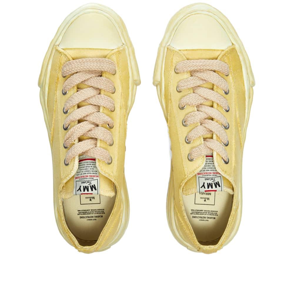 Maison MIHARA YASUHIRO Peterson Low Original Sole Dyed Sneaker - Beige