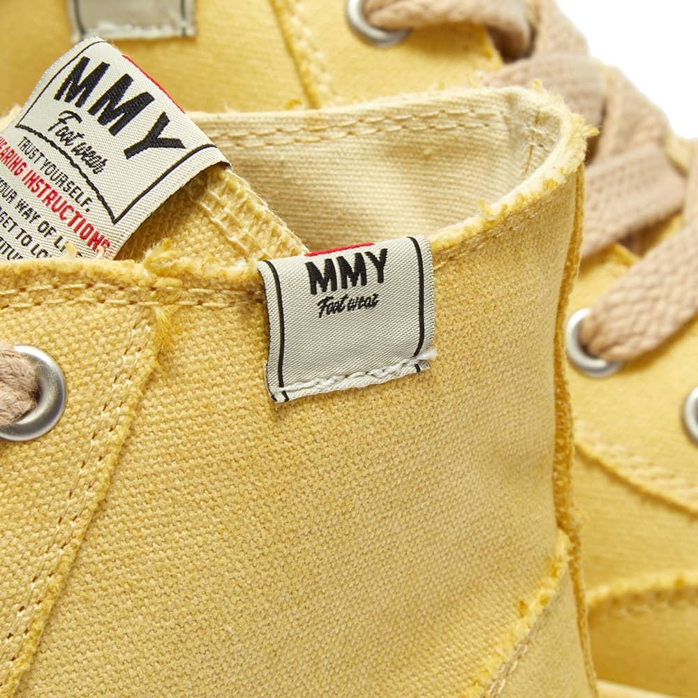 Maison MIHARA YASUHIRO Peterson Hi Original Sole Dyed Sneaker - Beige