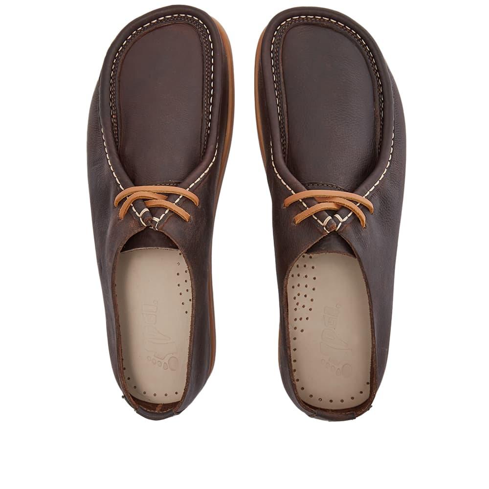 Yogi Willard - Dark Brown Tumbled Leather