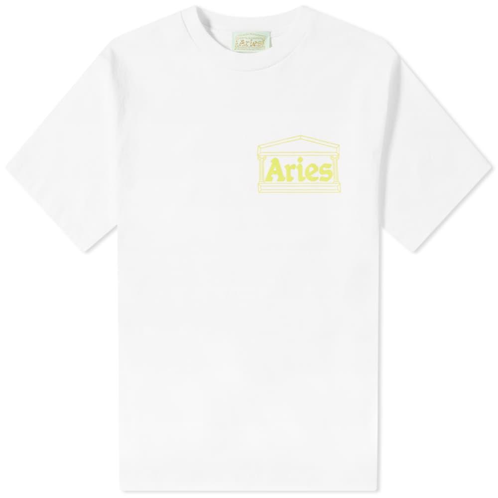 Aries Temple Tee - White