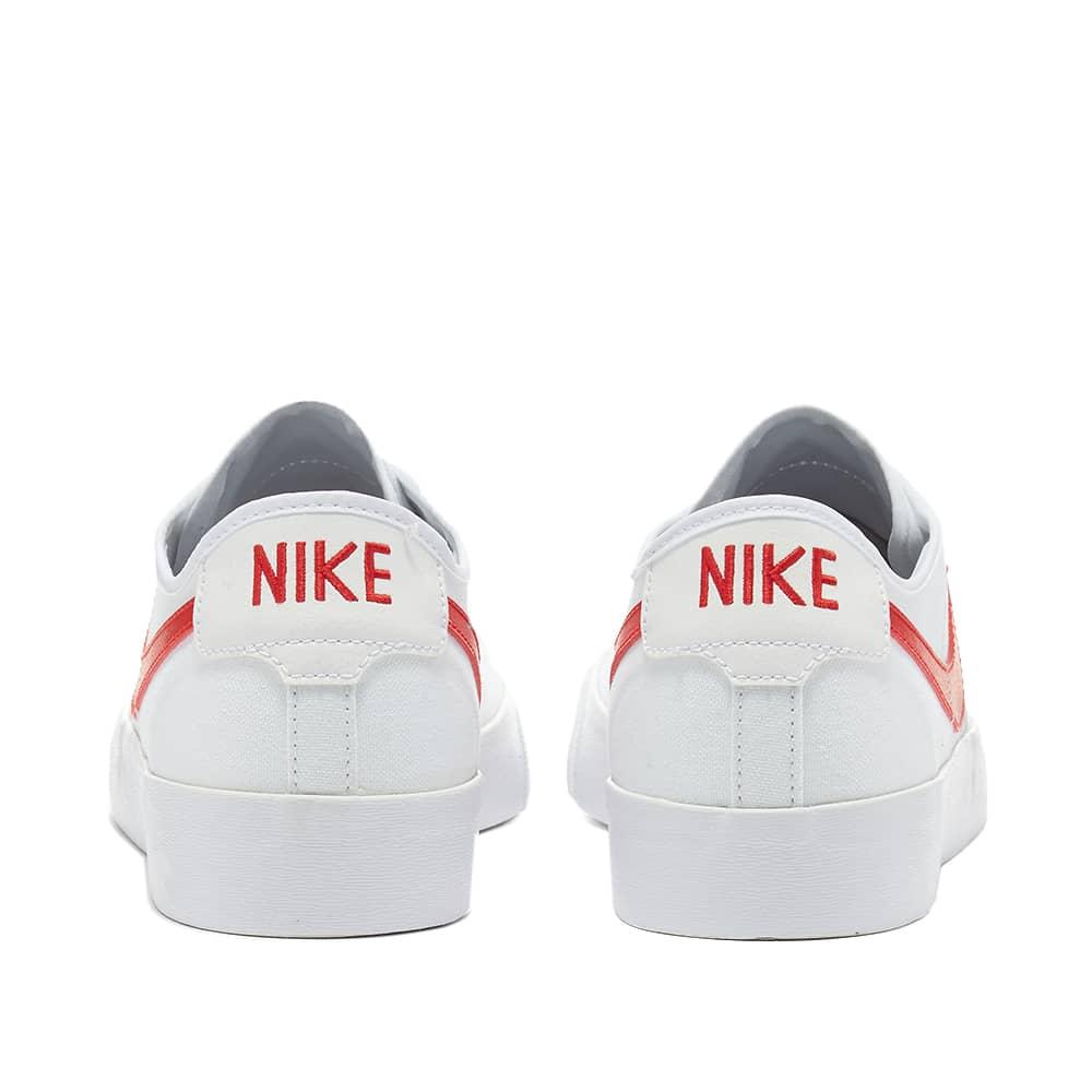 Nike SB Blazer Court - White, Red & Gum