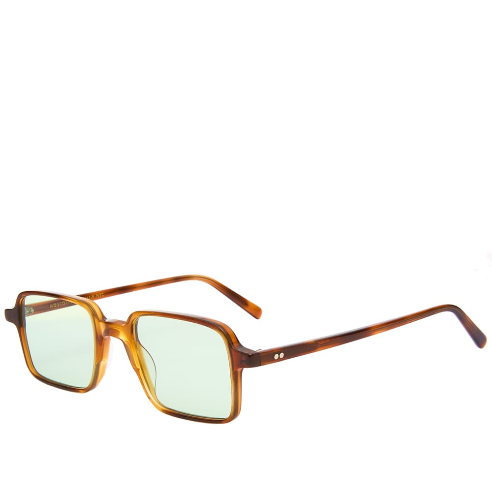 Moscot Shindig Sunglasses - Tobacco & Limelight