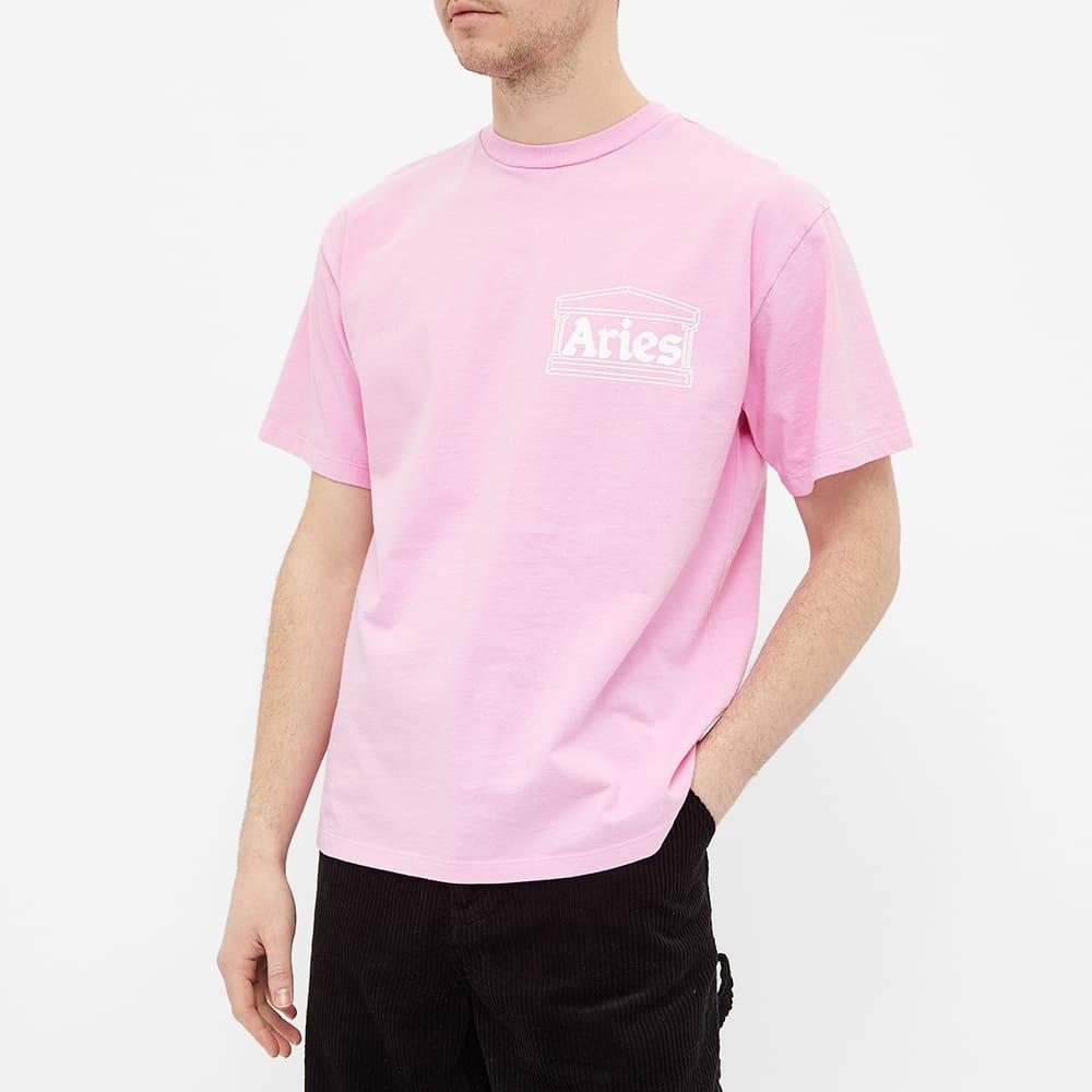 Aries Temple Tee - Pink
