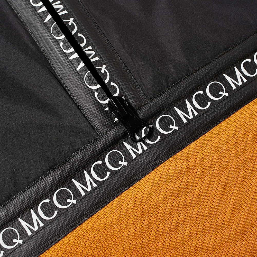 McQ Alexander McQueen Panel Fleece Popover - Ochre