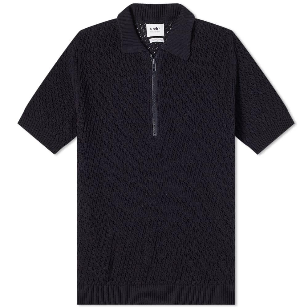 NN07 Ed Knit Polo - Navy Blue