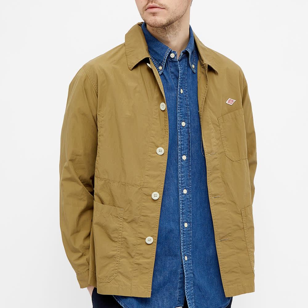 Danton Poplin Shirt Jacket - Khaki