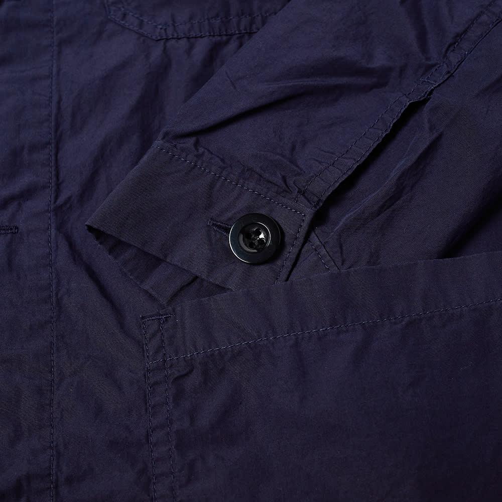 Danton Poplin Shirt Jacket - Navy
