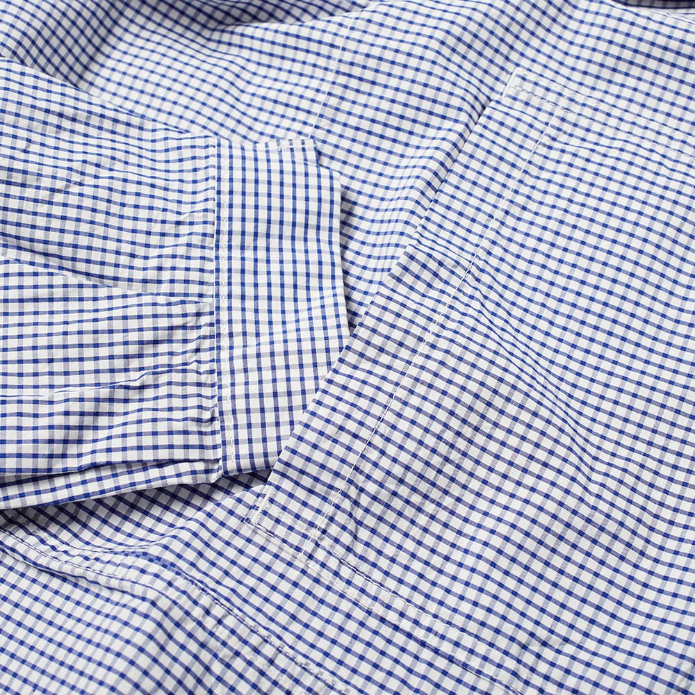 Danton Poplin Shirt Jacket - Blue Check