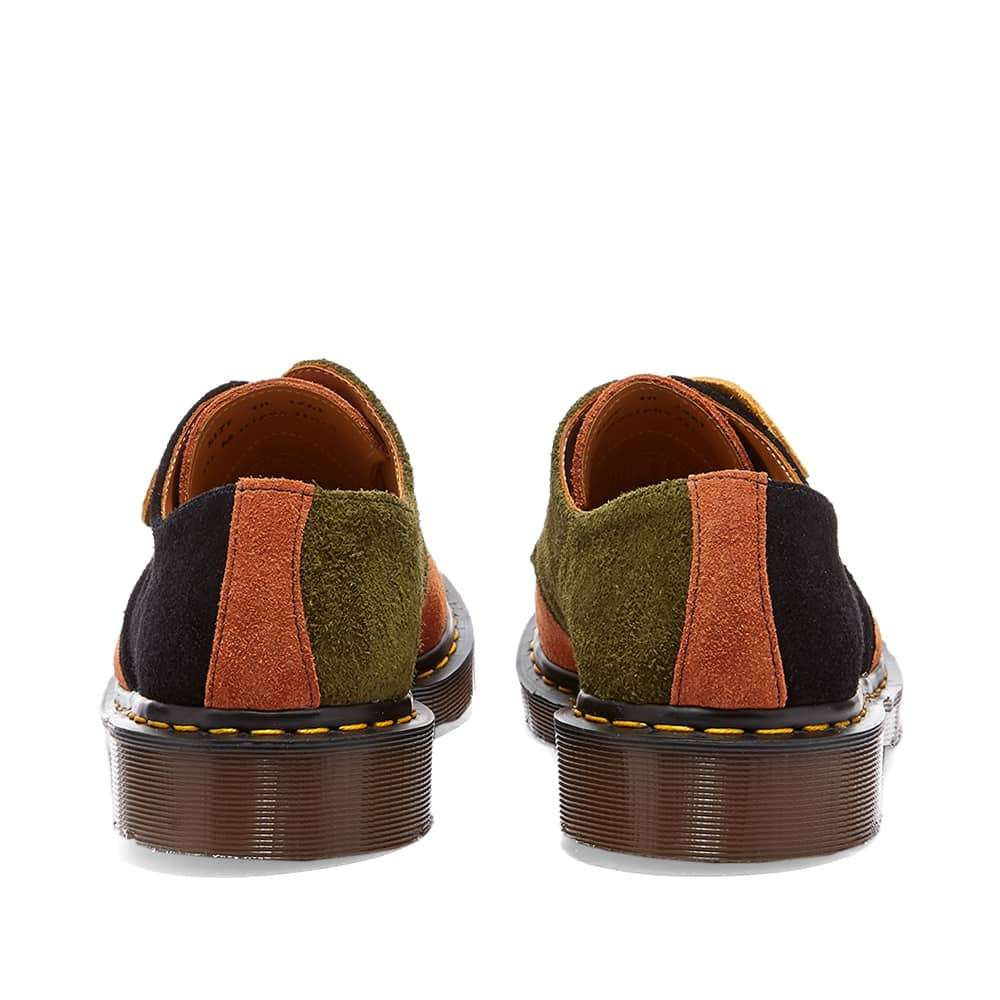 Dr. Martens 1461 Shoe - Made in England - Tan Rust, Army Green & Black