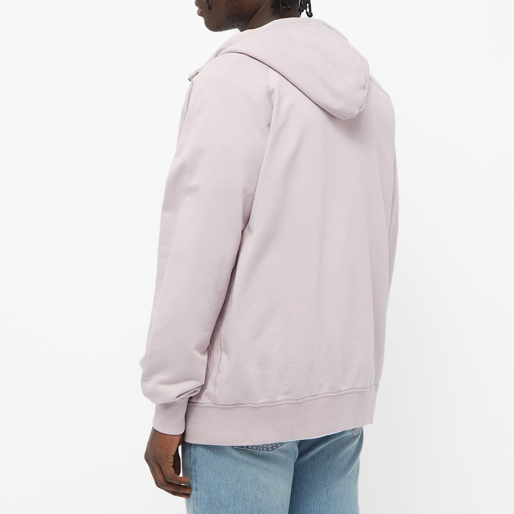 Albam Archive Zip Hoody - Dried Pink