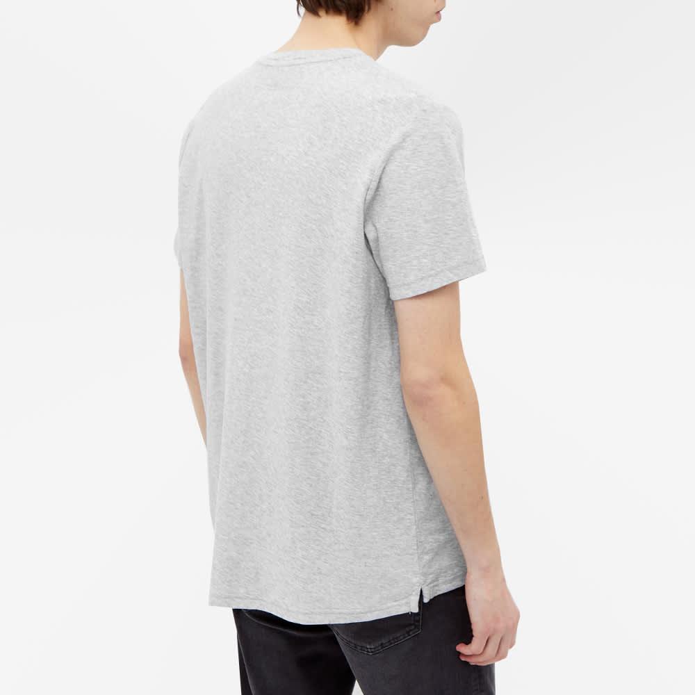 NN07 Aspen Pocket Tee - Light Grey Melange