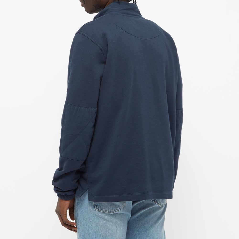 Albam Pocket Quarter Zip Sweat - Navy