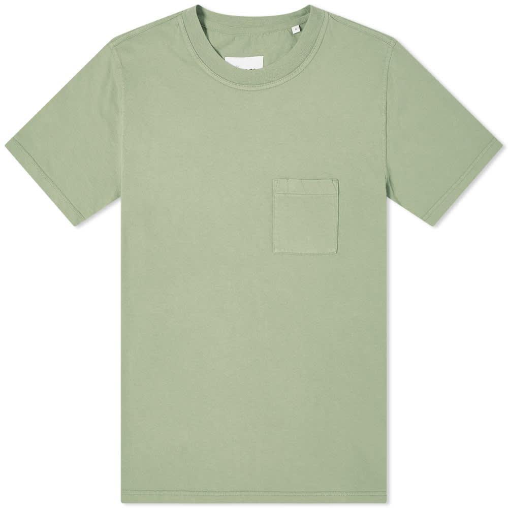Albam Workwear Tee - Oil Green