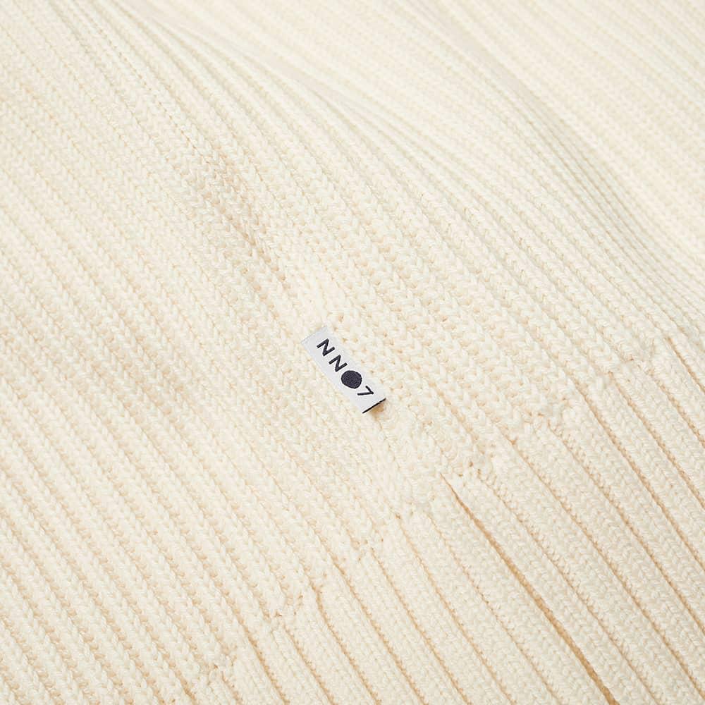 NN07 Jim Ribbed Crew Knit - Vanilla