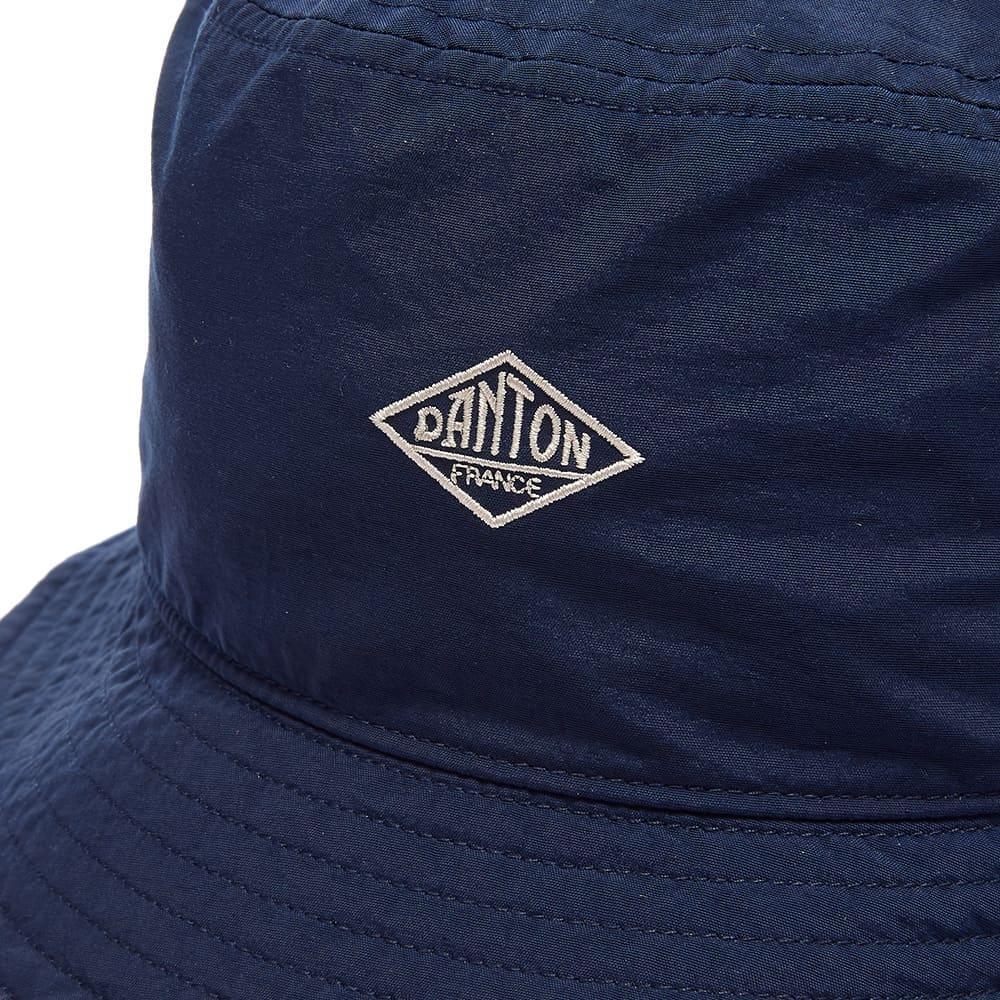 Danton Nylon Bucket Hat - Navy