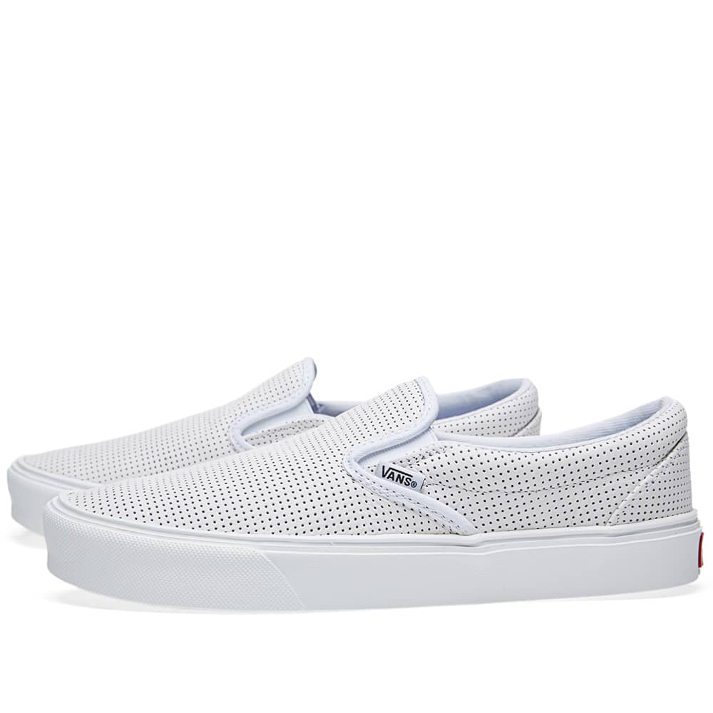 buying now online shop wholesale online Vans Slip On Lite White   END.