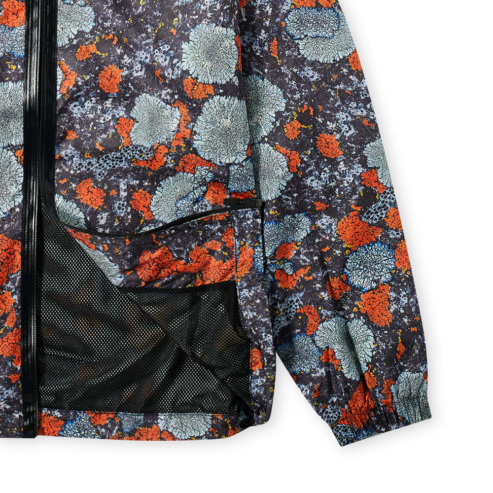 McQ Lichen Print Windbreaker - Lichen Orange