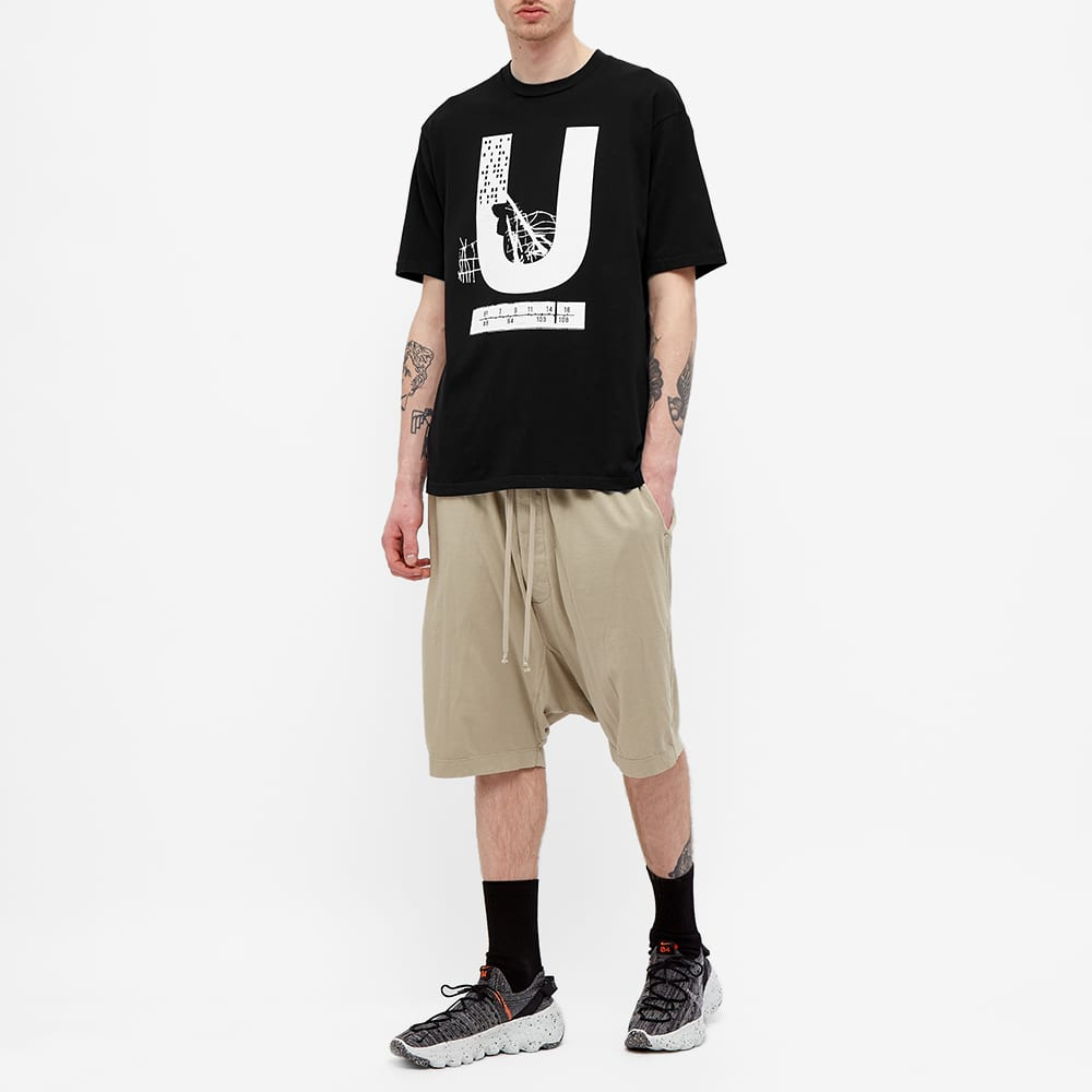 Undercover U Tee - Black