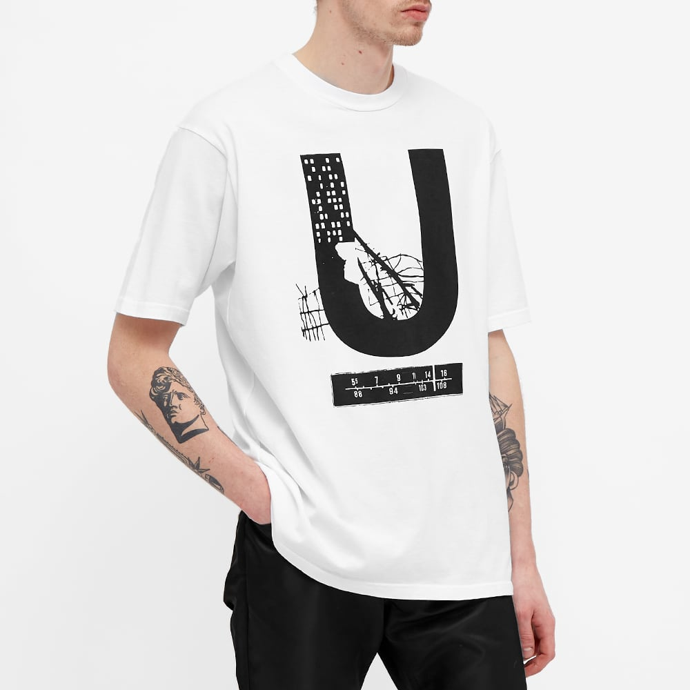Undercover U Tee - White
