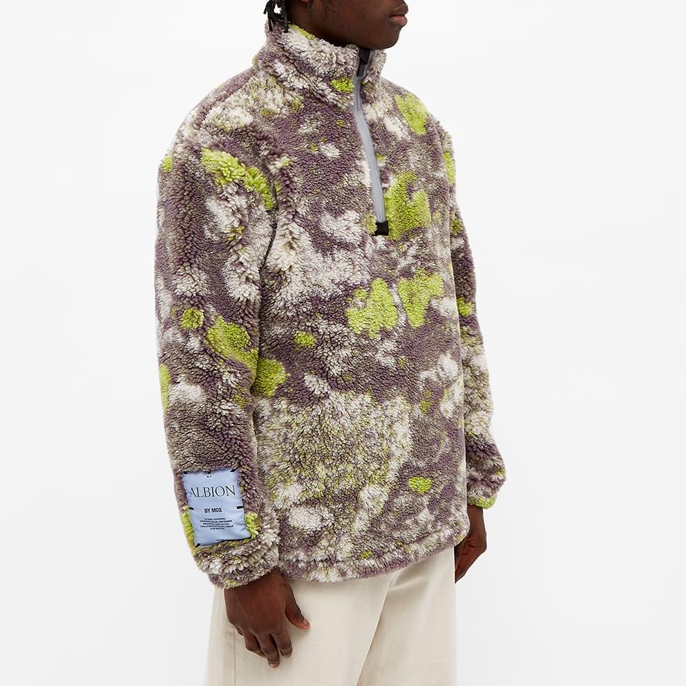 McQ Printed Fleece Jacket - Lichen