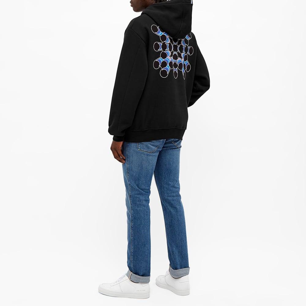 McQ Fantasma Popover Hoody - Darkest Black