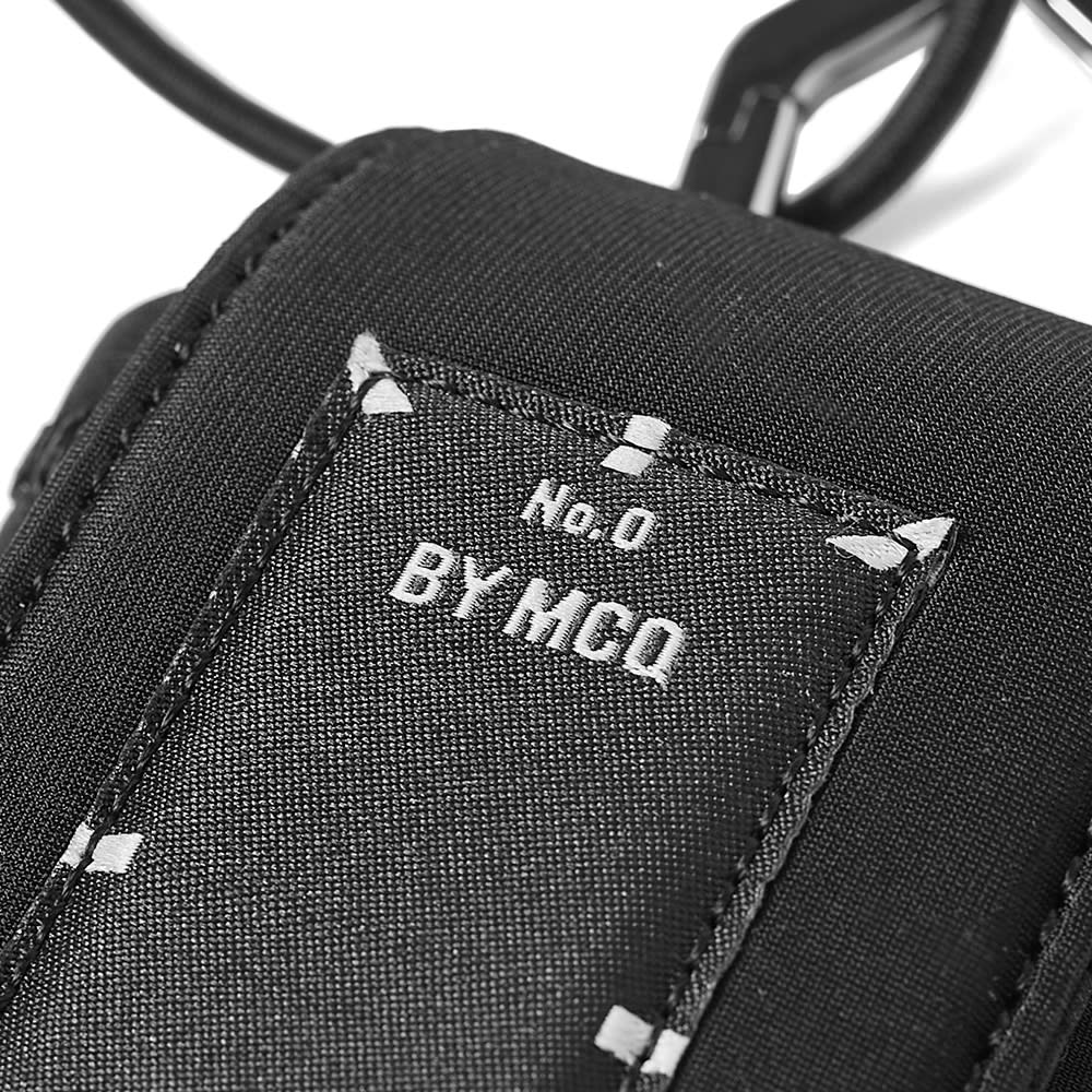 MCQ Neck Wallet - Black