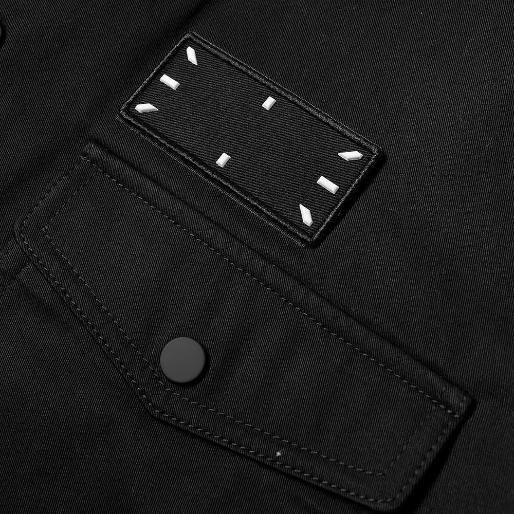 McQ Modular Overshirt - Darkest Black